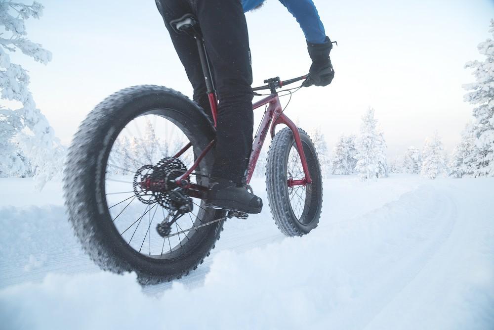 fatbike, talvipyöräily, läskipyörä