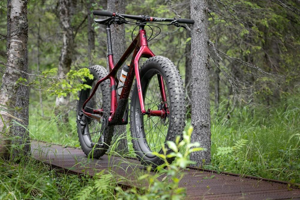 maastopyörä ylläs