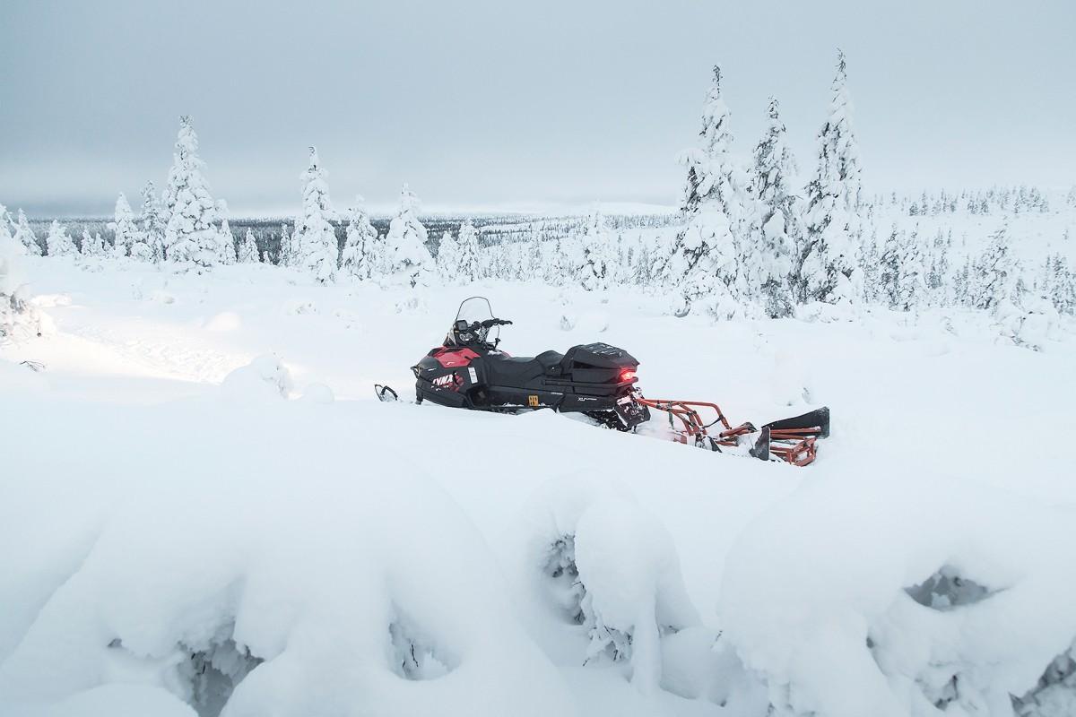 trail grooming, talvireitti, talvipyöräilyreitti