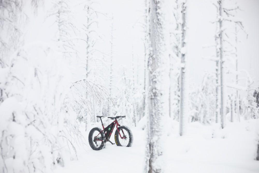 fatbik, talvipyöräily, pyöräreitti